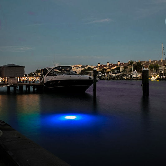 Apollo LED Underwater Dock Lights & Best underwater dock light to enhance your waterfront estate