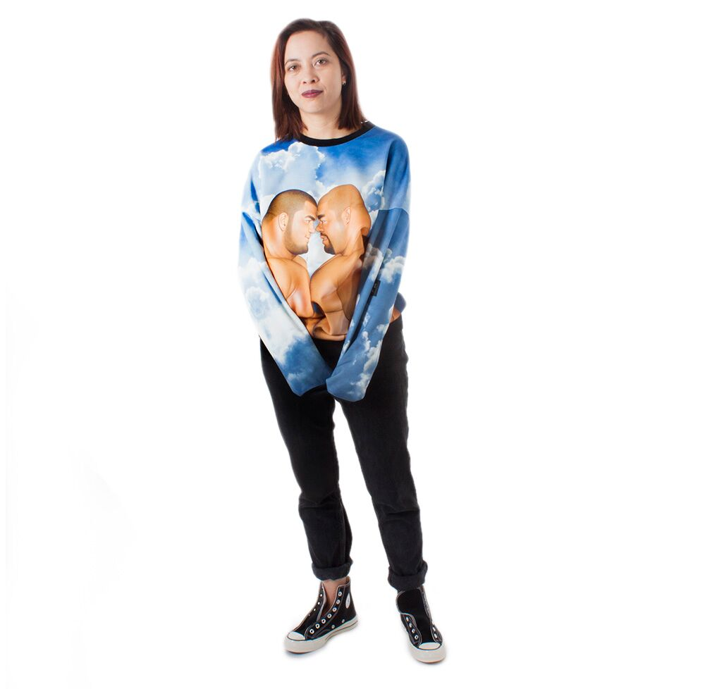 Best Couple Sweatshirt - Blue Sky - MASSIVE x Jiraiya