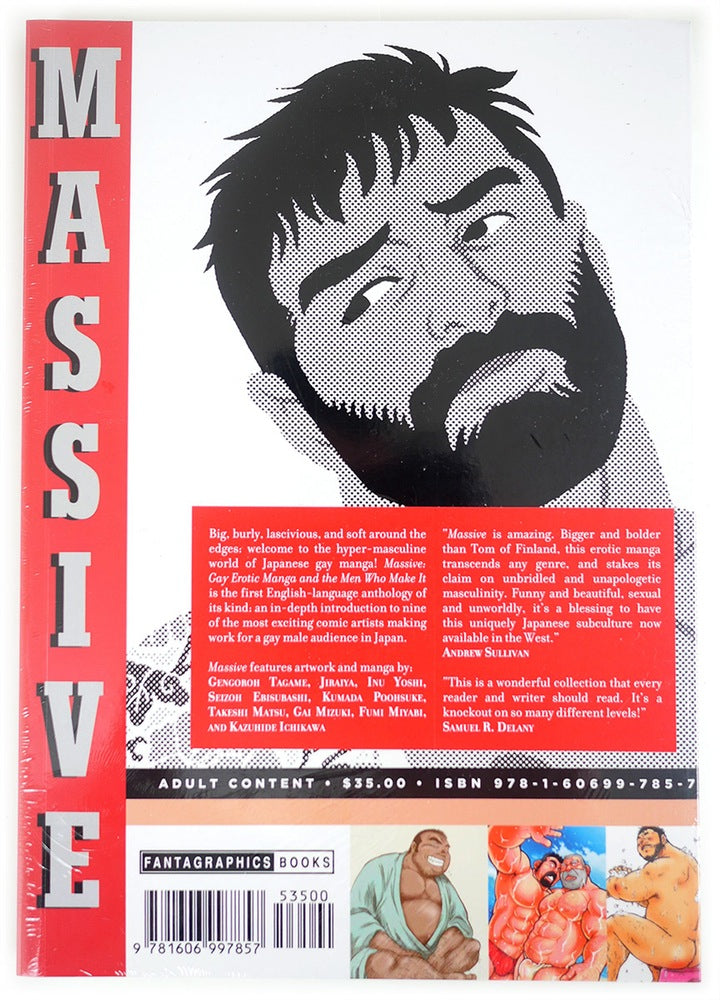 Massive: Gay Erotic Manga and the Men Who Make It