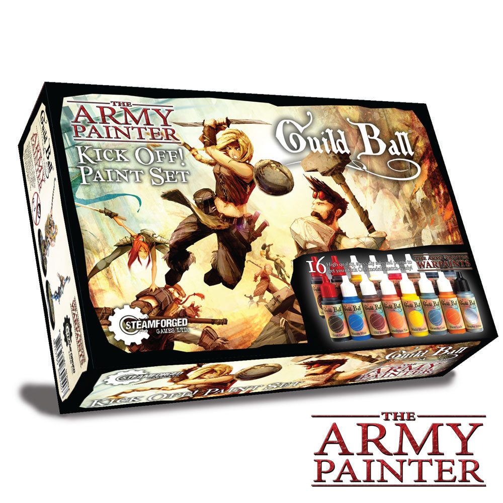 The Army Painter - Guild Ball: Kick Off! Paint Set