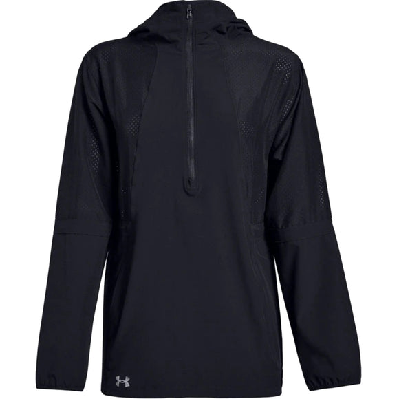 Under Armour Women's Squad Woven 1/2 Zip Jacket 1305786