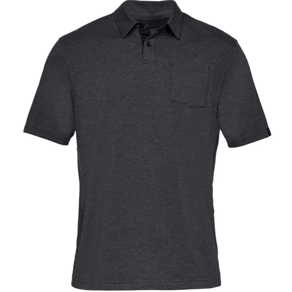Under Armour Men's Charged Cotton Scramble Golf Polo Shirt 1321111