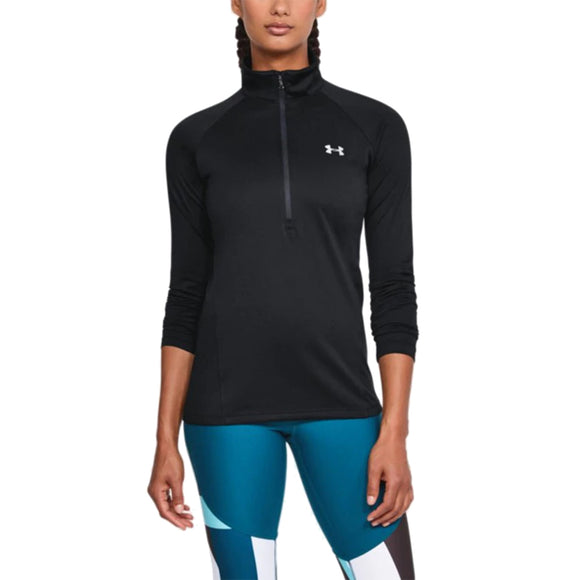 Under Armour Women's Tech 1/2 Zip Long Sleeve Shirt 1320126