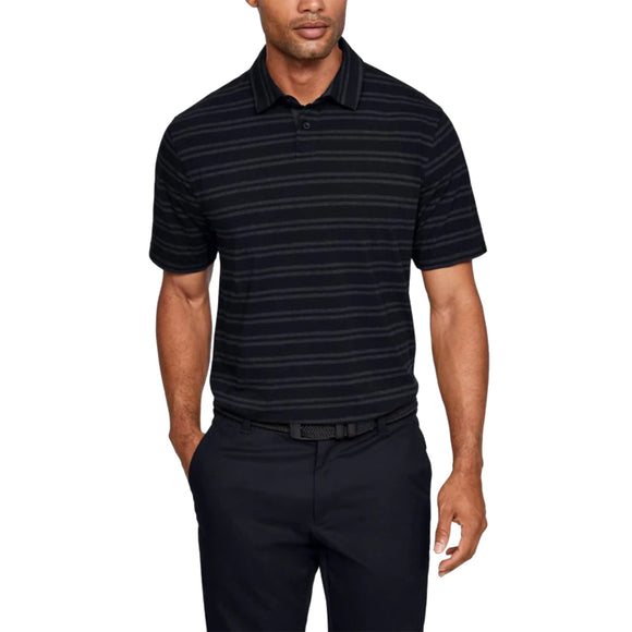 Under Armour Charged Cotton Scramble Stripe Polo Shirt 1323455