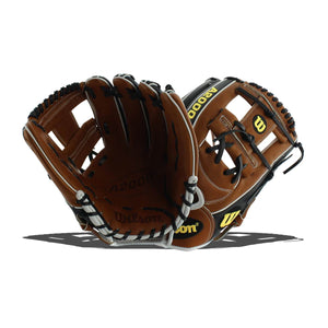 "Wilson A2000 1787 SuperSkin 11.75"" Baseball Glove WTA20RB191787SS"