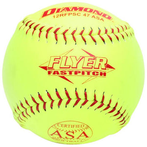 "Diamond Flyer ASA 12"" Synthetic Softball 12RFPSC47ASA"