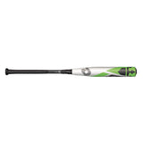 DeMarini CF Zen Balanced -5 Green / White Baseball Bat WTDXCB52732-17