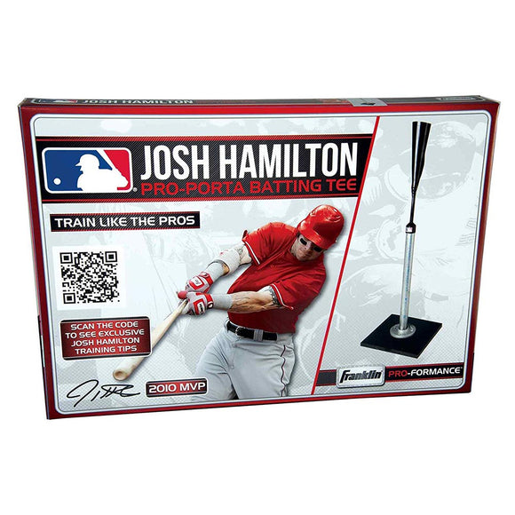 Franklin Sports MLB Josh Hamilton Pro-Porta Batting Tee