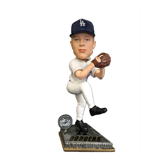 Forever Collectibles Clayton Kershaw Dodgers Springy Bobblehead HEH1214