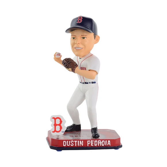 FOCO Dustin Pedroia Boston Red Sox Springy Bobblehead HEH0514