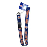 Pro Specialties Group NCAA Lanyard with Breakaway Key Ring