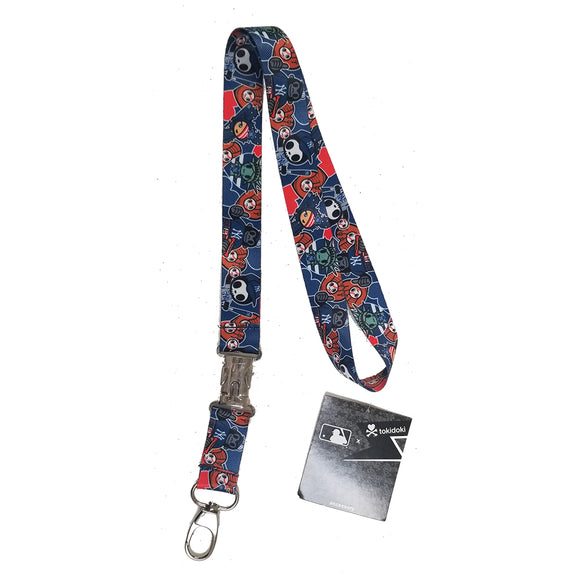 PSG x Tokidoki MLB Team Lanyard with Key Chain