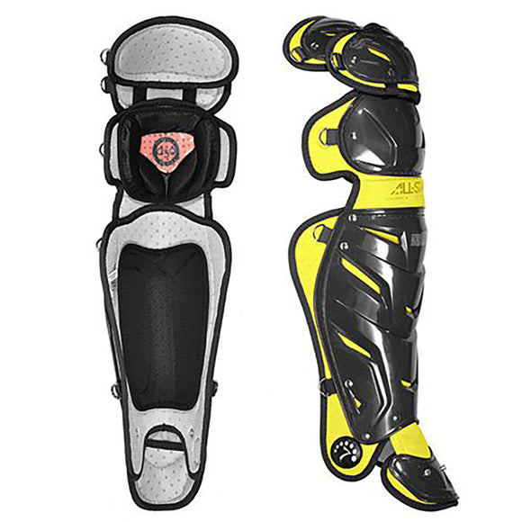 All-Star System Seven Adult Pro Two Tone Leg Guards LG30WPRO
