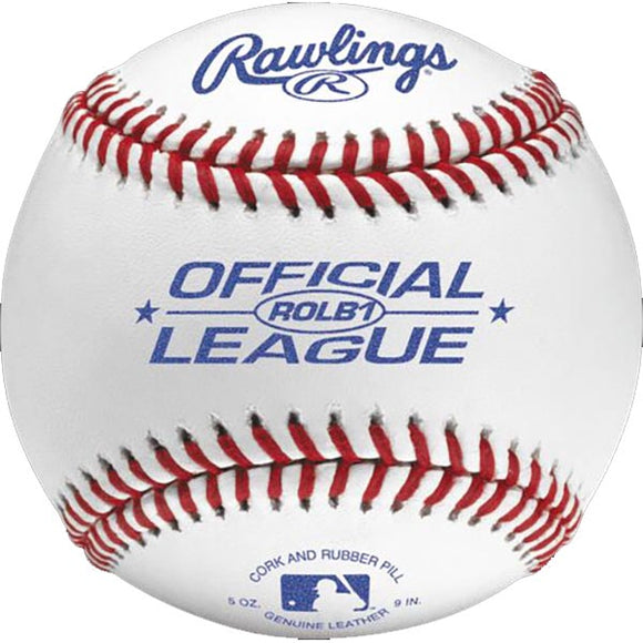 Rawlings Official Junior League Baseballs ROLB1