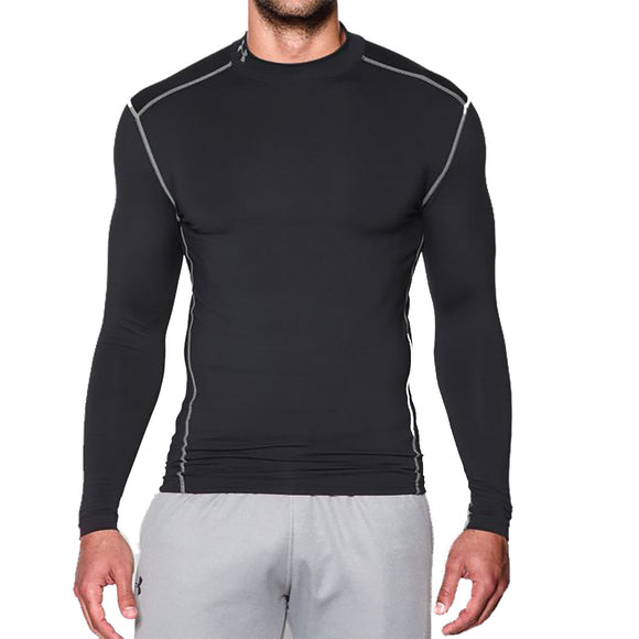 Under Armour Men's ColdGear Compression Mock Long Sleeve Shirt 1265648
