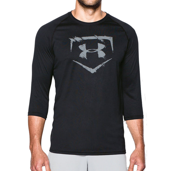 Under Armour Men's Baseball ¾ Sleeve T-Shirt
