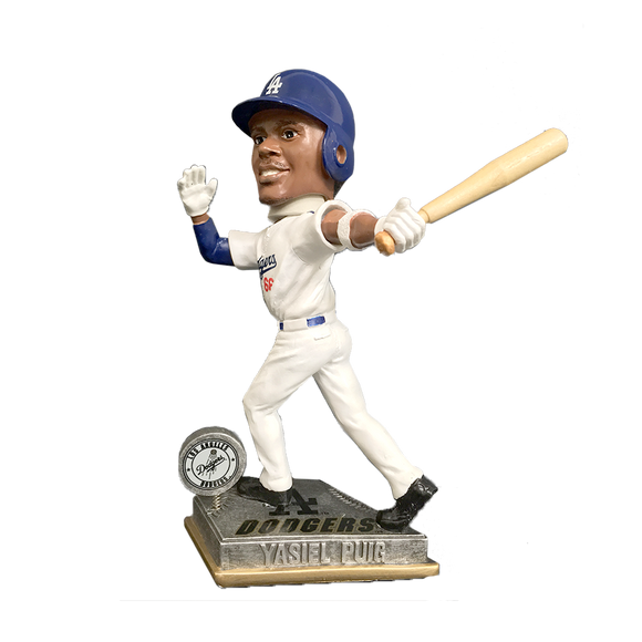 Forever Collectibles Yasiel Puig Los Angeles Dodgers Action Bobblehead HEH1214