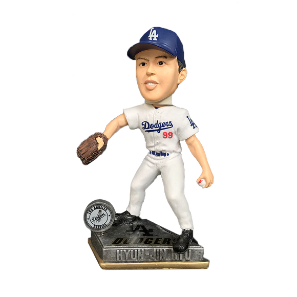 Forever Collectibles Hyun-Jin Ryu Los Angeles Dogers Bobblehead HEH1214
