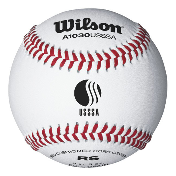 Wilson A1030 Tournament Series USSSA Baseballs WTA1030BUSSSA