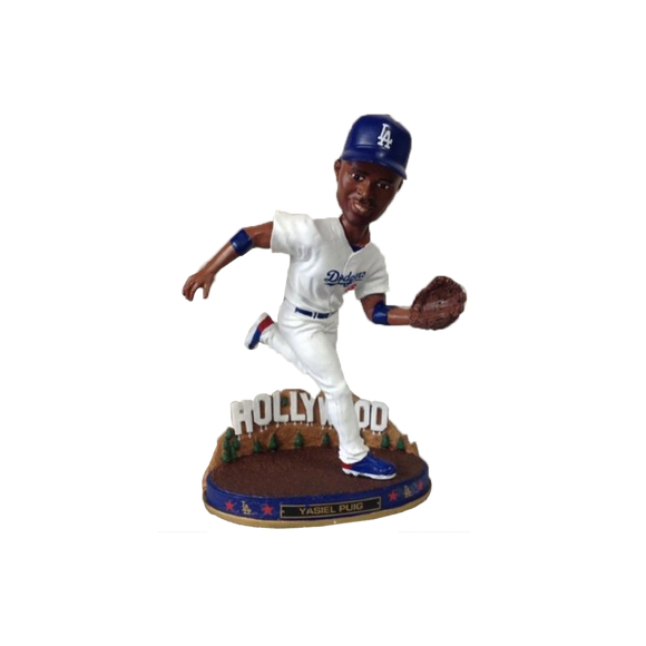 FOCO Yasiel Puig Los Angeles Dodgers City Bobblehead WTX1213