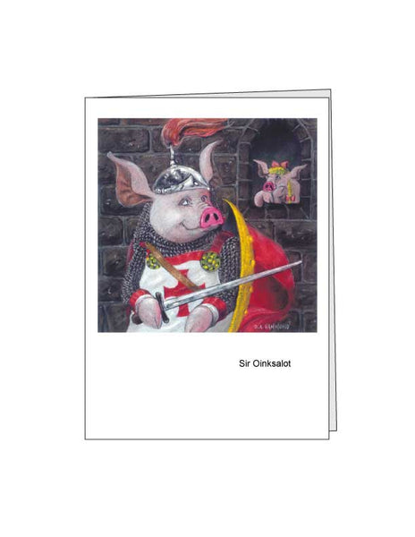 Notecard: Sir Oinksalot