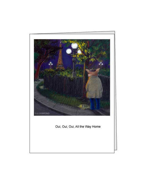 Notecard: Oui, Oui, Oui, All the Way Home
