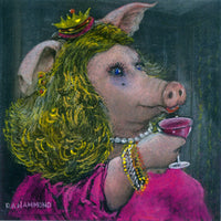 Matted Large Print: High Sowciety Sow