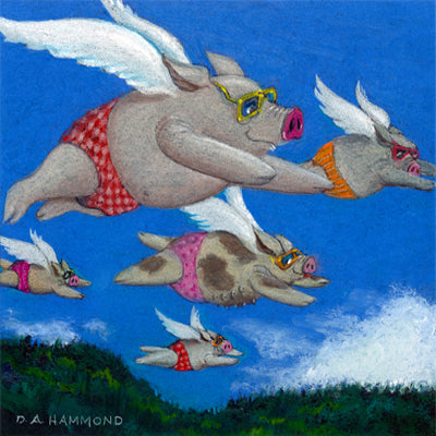Magnet: Pigs of a Feather Flock Together