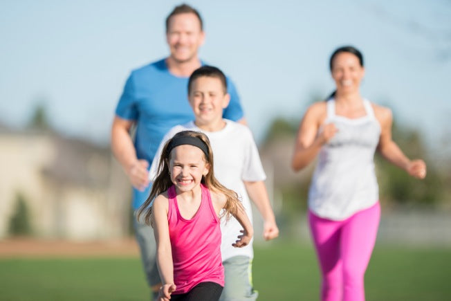 Running After You Have Kids: One Father's Story