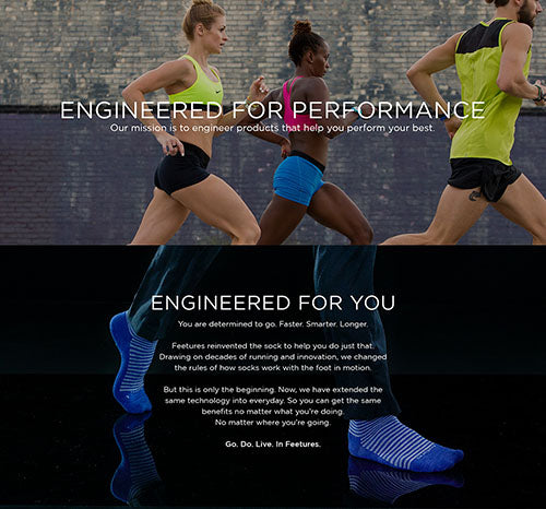 Engineered For You. Determined to go. Faster. Smarter. Longer.