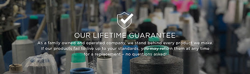 Our Lifetime Guarantee