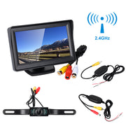 "Wireless Back Up Camera with 4.3"" Color Monitor"