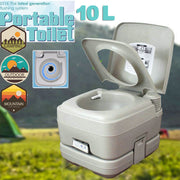 10L (2.8 Gallon) Portable Camping Toilet