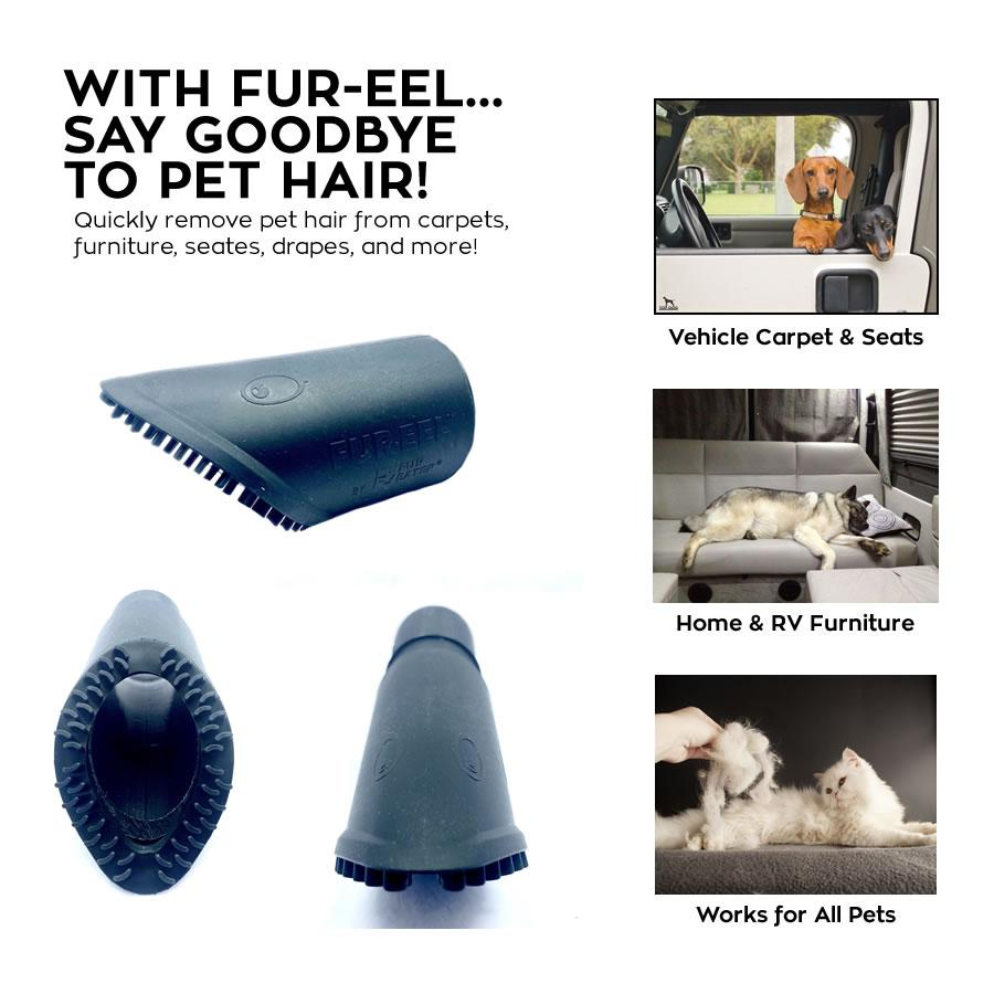 FUR-EEL Pet Hair Removal Vacuum Tool