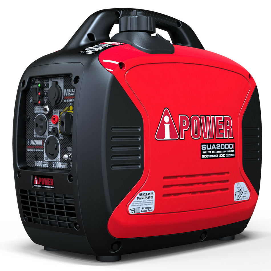 2000 Watt Portable Inverter Generator Super Quiet Gas Powered CARB/EPA