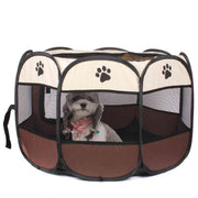 Octagonal Soft Sided Foldable Dog Kennel