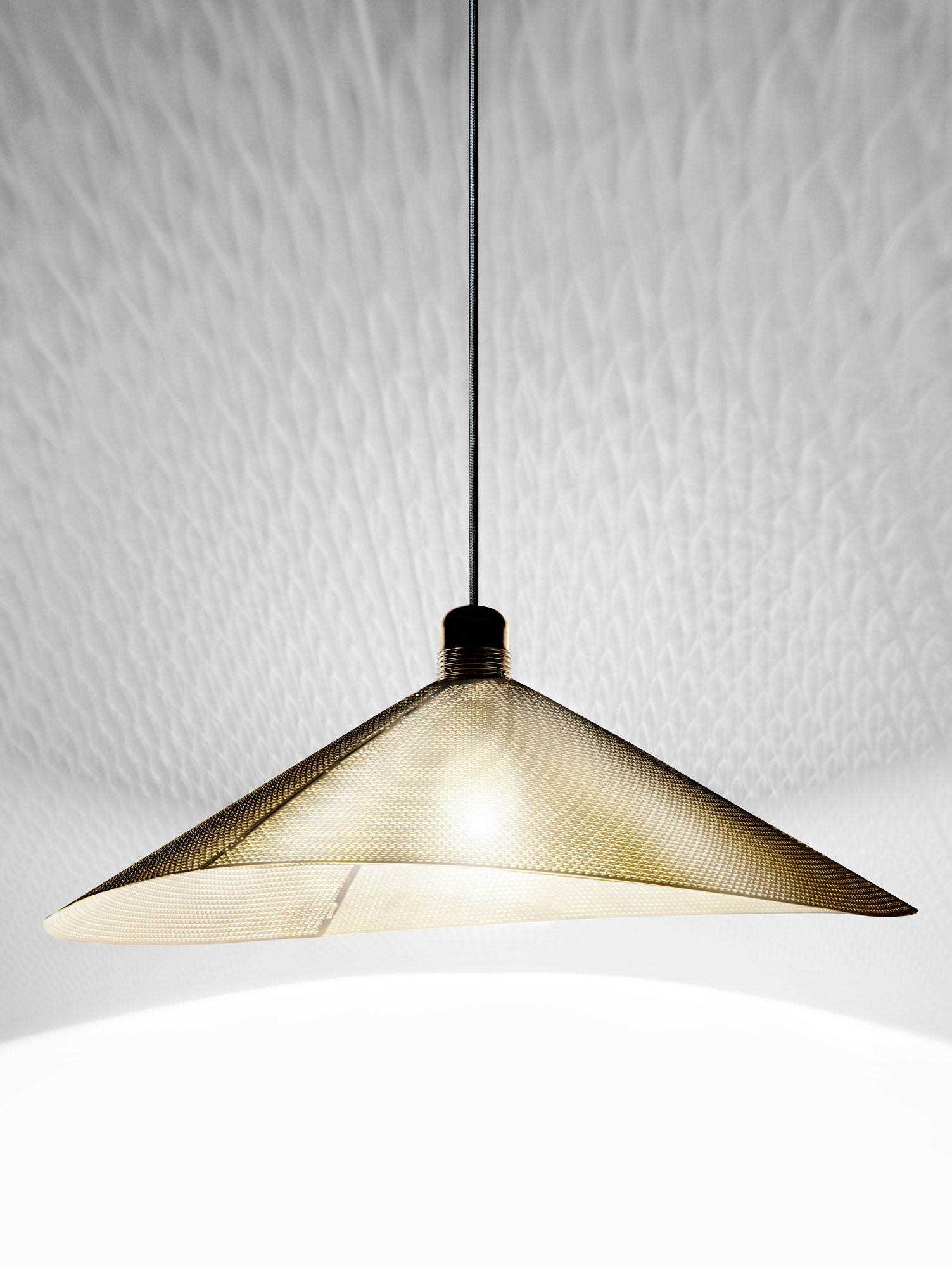 Metallodolce Cymbal brass lamp shade