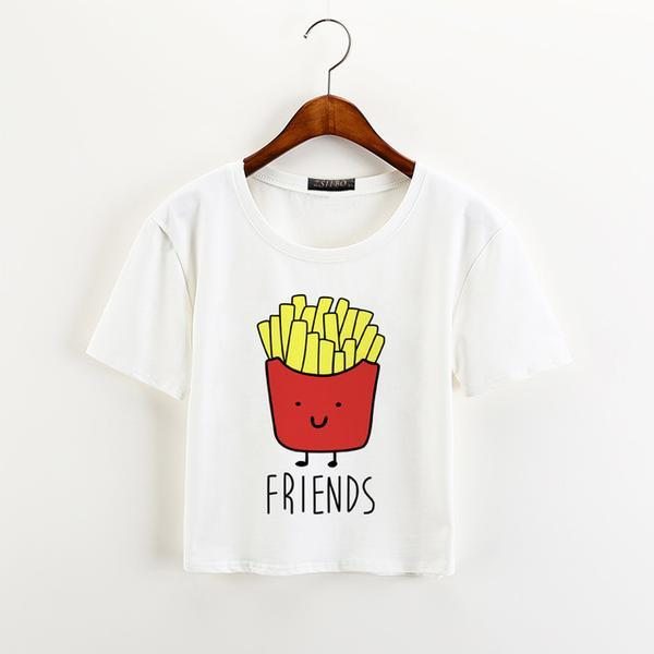 You're The Hamburger To My Fries Best Friends Tee