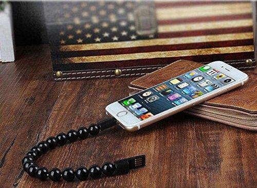 Mobile Phone Charging Cable Beaded Bracelet