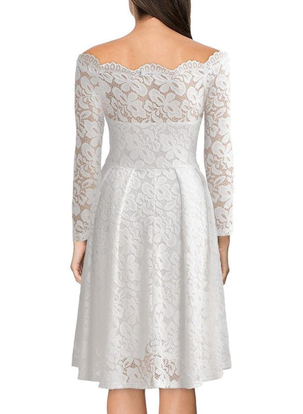 Speak - Vintage Floral Lace Dress