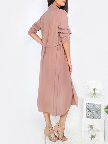Primal - Elegant Long Trench Coat