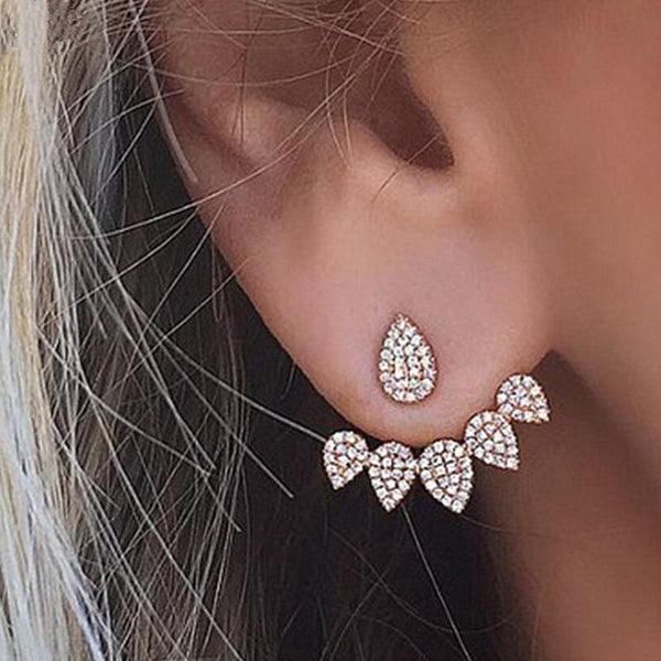 Ear Cuff Double Sided Stud Earrings