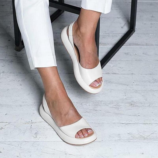 Mabel - Low Chunky Platform Sandals