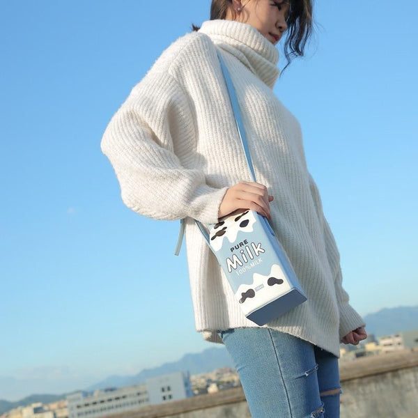 Flava - Milk Carton Handbag