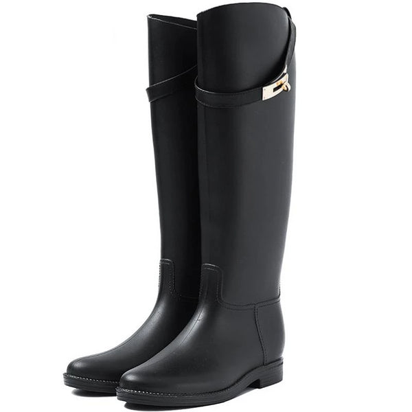 Maris - Knee High Rain Boots