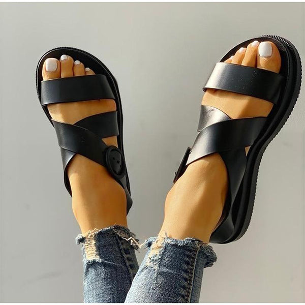 Margery - Rubber Strappy Sandals