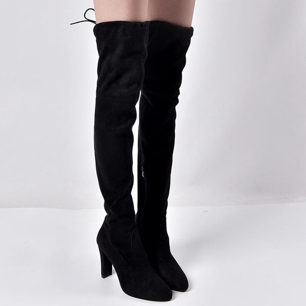 North - Thigh High Boots