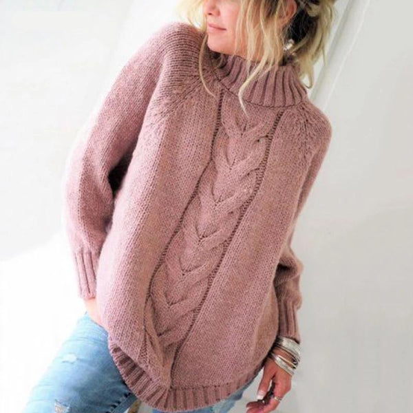 Alina - Knitted Turtleneck Sweater