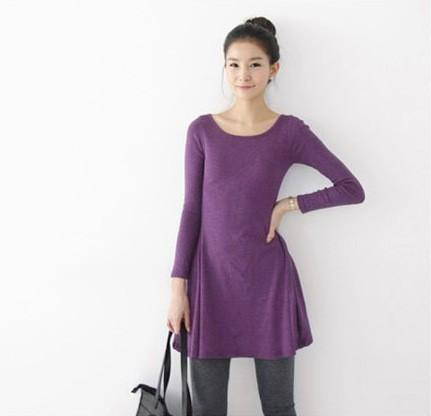 Rowan - O-Neck Long Sleeve Dress