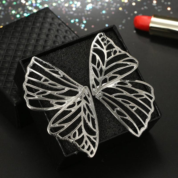 Rose - Hollow Butterfly Wing Earrings